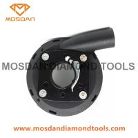 Best 5 Inch Plastic Vacuum Dust Shroud with Brush for Hand Grinders wholesale