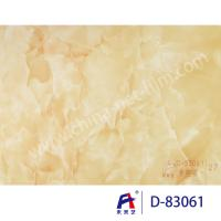 Best Blue Sky Wear Resistance PVC Decorative Film , Pvc Ceiling Film Simulation Of Marble wholesale
