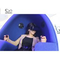 Best 2 Player 9D Egg VR Cinema Simulador With Deepon E3 Glasses For Shopping Mall wholesale