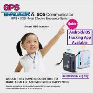 Best Mini GSM GPS Tracker Child Kids Elderly SOS Emergent Help Communicator Sender W/ Microphone Speaker for 2-Way Phone Talk wholesale