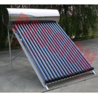 Best Simple Structure Heat Pipe Solar Water Heater With Copper Heat Tube 6 Bar wholesale