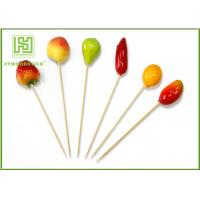 Best Fruit Decorative Food Toothpicks New Style Christmas Fruit Skewers 15cm Size wholesale