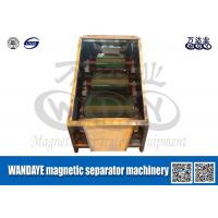 Best Large Capacity 3 Layer Roller Type Magnetic Separator For Conveyor Belts wholesale