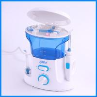 Best IPX7 Waterproof Ultrasonic water jet flosser , Low Noise Power Oral Irrigator water jet flosser wholesale