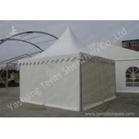 Best Water Repellent Aluminum Alloy Frame High Peak Tents White PVC Fabric Cover wholesale