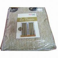 Best 100% Polyester Sheer Curtain wholesale