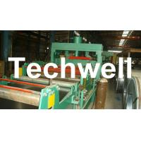 Best 4 - 8m/min Steel Silo Corrugated Wall Panel Roll Forming Machine For Galvanized Sheet wholesale