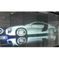 Quality 3D Holographic Rear Projection Film Adhesive Self Glass 170° View Angle wholesale