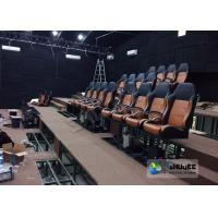 Best Comfortable 4D Cinema Seat With Pu Or Genuine Leather Seats wholesale