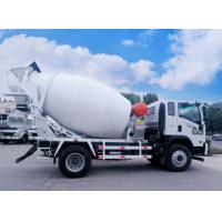 China Mobile Concrete Mixer Truck , 6 - 12 Laps / Min Concrete Mixer Pump Truck on sale