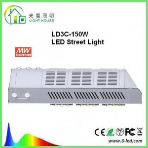 Best Customized DLC 150w Led Street Light 8 Years Warranty PF>0.98 wholesale