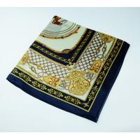 details of customized silk scarves manufacturer china