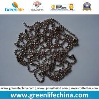 Best Chinese Manufacturer Supply 1.0mm-12mm Beaded Ball Shape Metal Chain wholesale