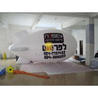 Best White Inflatable Ground Balloon Helium Zeppelin for Opening Event Meeting EN71 Standard wholesale