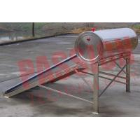 Best Food Grade Vacuum Tube Solar Water Heater Portable With Painted Steel Shell wholesale