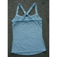 Ladie tank top,100% Cotton ,Breathable, Eco-Friendly