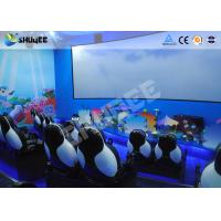 Best Mobile Seating Chairs 5D Cinema System Spray Air / Spray Water 5D Motion Simulator wholesale