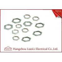Best Steel Hot Dip Galvanized Steel Locknut BS4568 BS 31 Threaded Hexagonal Head wholesale