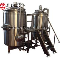 Best 300L 500L 700L Craft Beer Equipment , Microbrewery Machine Stainless Steel 304 wholesale