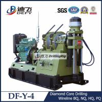 Best DF-Y-4 rock core sampling drilling rig machine with diamond bits with 100m Max. depth wholesale