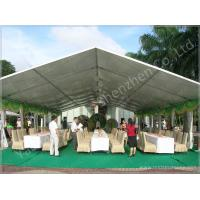 Quality 100 Seater Temporary Outdoor Garden Party Canopy Tent Open Gable Sunshade Construction wholesale