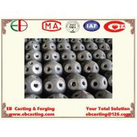 China Large Carbon Steel Bolting Balls with Threads with Welding Process for Engineering Project EB15017 on sale