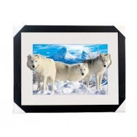 Cheap 0.6mm PET 5D Lenticular Printing Services With Cute Animal Photos For Gift / Advertisement for sale