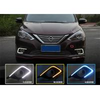 Best Super Bright Car Led Daytime Running Lights for Nissan All New Sylphy 2016 wholesale
