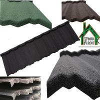 Best Economical light weight Colorful Stone Coated Metal Roofing Tiles Ripple Model 1340*420mm wholesale