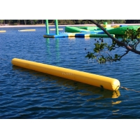 Best Triathlon Water Games Used Floating Long Tube Inflatable Cylinder Training Buoy For Water Park Racing Marks wholesale