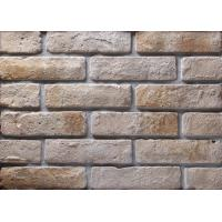 Cheap Decoration Wall Thin Veneer Brick , Antique Texture Fire Clay Bricks For for sale