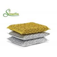 Best PET Non Abrasive Scouring Pad Kitchen Cleaning Tools No Rust Chemicals Free wholesale