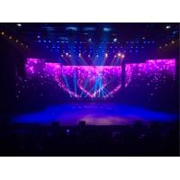 Advertising Stage Background Led Screen4.81mm Pixel Pitch With Adjustable Curve