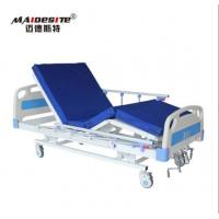 Best M08 Three Functions Manual Hospital Bed , Adjustable Patient Bed Load Capacity 250kg wholesale