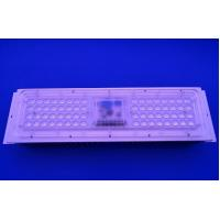 Buy cheap 50 Watts 3030 LED Street Light Components with Driverless 25 / 60 / 120 / 157x85 degree Array Lens from wholesalers