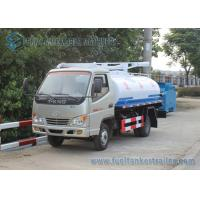 Quality Factory Supply T-king 4x2 Mini Fecal Suction Truck Vacuum Sewage Suction Truck 1000 Gallons wholesale