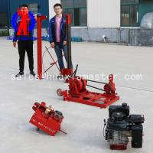 China QZ-3 Diesel Engine Earth Sampling Diamond Rock Core Drilling Rig Machine on sale