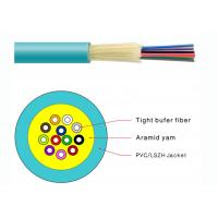 Best Durable Tight Buffer Distribution Fiber Optic Cable Flame Retardant PVC Jacketed wholesale