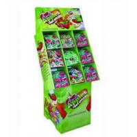 Best Green Paper Floor Candy Display Stands For Promotion Snacks , CMYK / Pantone Printed wholesale