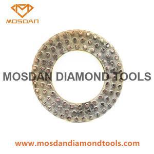 Best 7 Inch 180mm Metal Bond Dots Polishing Pads Rings for Floor Grinders wholesale