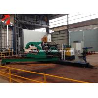 Mid - Frequency Pipe Bending Equipment , Induction Bending Machine With Induction Heating Technology