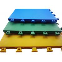 Customized Color Outdoor Court Flooring Slip Friction ≥ 0.45 Excellent Denoise And Grip
