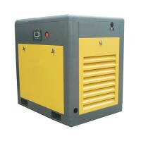 Best 8 bar PLC High Power Rotary Screw Air Compressor Two Stage One Year Warranty wholesale