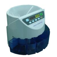 China CJ-880 White and Blue Color Coin Counter and Sorter on sale