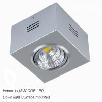Best IP40 Silver 15W CreeCOB Ceiling down light&LED Grille light for lobby wholesale