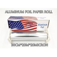 Best Household Catering Aluminum Foil Paper Roll Aluminum Foil For Food Packaging 30cm 200m 20micron Thickness Big Box Pack wholesale