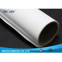 Best Wide Format Inkjet Printable Canvas , 260gsm Matte Polyester Canvas Fabric wholesale