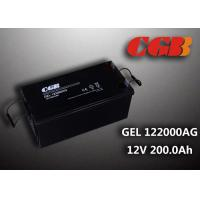 Best Reliable safe 200AH GEL Series 12V Lead Acid Battery Rechargeable No leaking wholesale