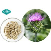 China Pure Milk Thistle Extract Excellent Supports Liver Detoxification Reactions on sale