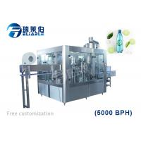 Best 4000BPH CSD Carbonated Drink Filling Machine Soft Drink Bottle Rinsing Capping wholesale